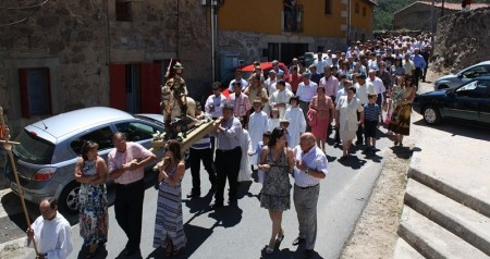 Fiesta del dia de santiago 5 de julio procesion