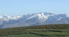 Vista de gredos desde la sierra de santiago